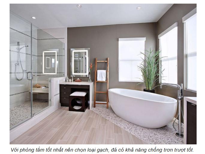 Thiết kế phòng tắm cần tránh mắc những sai lầm này