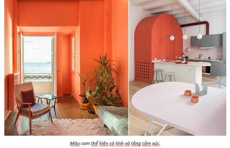 Ý nghĩa của một số màu sơn và nội thất nhà ở phổ biến nhất