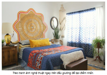 Một số ý tưởng thiết kế đầu giường cực đẹp và tiết kiệm